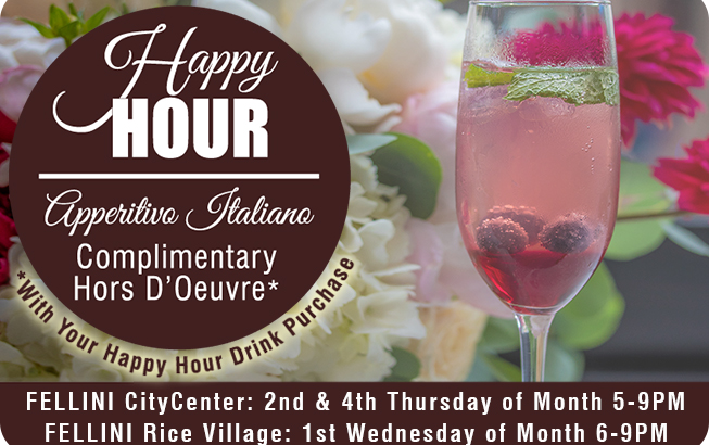Happy Hour - Apperitivo Italiano