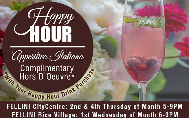 Happy Hour – Apperitivo Italiano